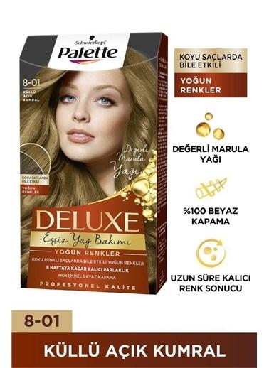 Palette Palette Deluxe Yoğun Göz Alıcı Kalıcı Renkler 801 Küllü Kahve